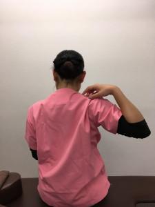肩甲骨をグルングルン1